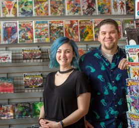 comic books store
