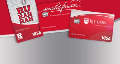 Rutgers & Scarlet Forever branded credit cards