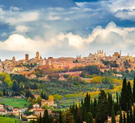 Ovieto, Italy countryside
