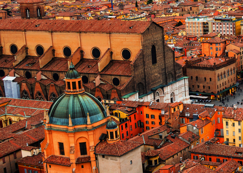 Bologna, Italy roof tops