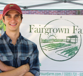 Rutgers Graduate Fills New Brunswick Food Desert Through Organic Farm