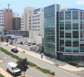 Photo of Trinitas Hospital in Elizabeth New Jersey