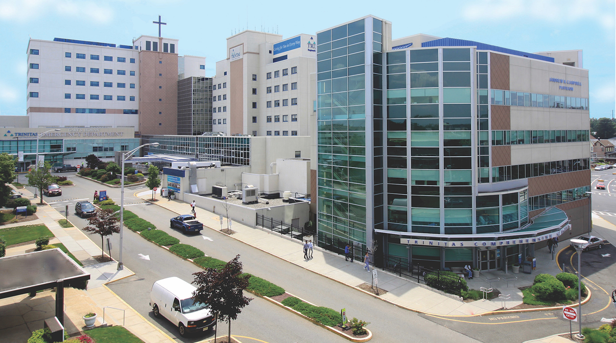 Photo of Trinitas Hospital in Elizabeth New Jersey