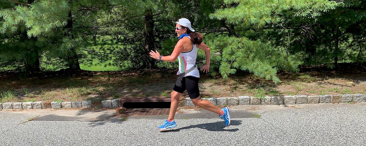 Miriam Diaz-Gilbert running