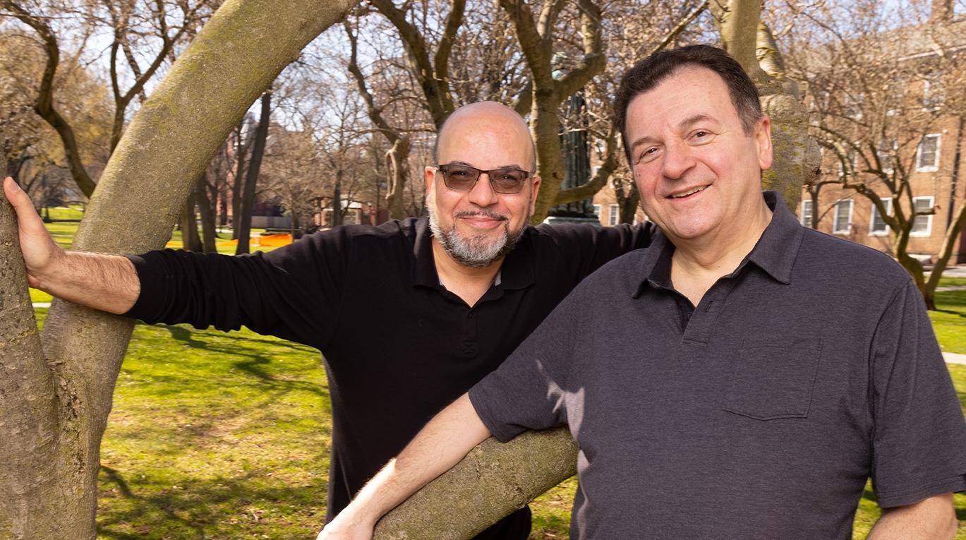 Brothers Mariano and Fabian Nicieza. Photo by John O'Boyle