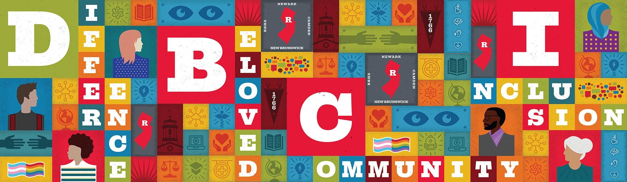 beloved community graphic image