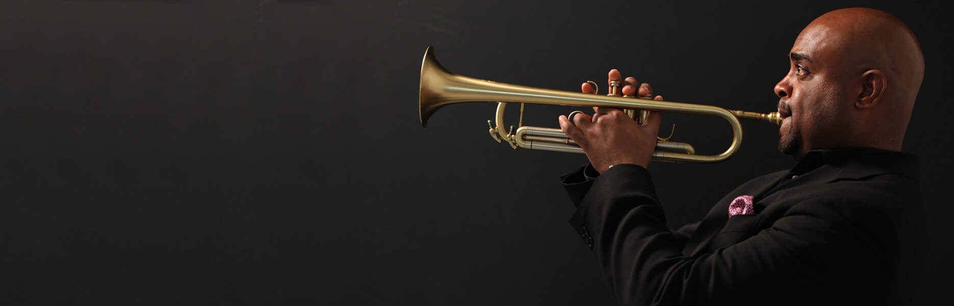 Terrell Stafford playing the horn
